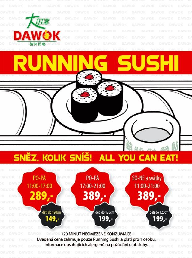 running sushi Karlovy Vary